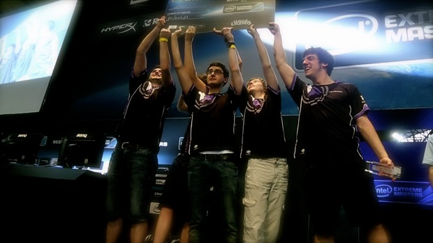 Millenium foi vencedora do campeonato de 'League of Legends' na Campus Party Brasil 2014 (Foto: Divulgação/Intel Extreme Masters)
