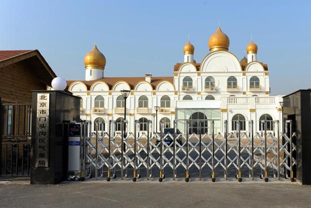 Governo de Pequim autorizou construção de prédio oficial inspirado no Kremlin, da Rússia (Foto: AFP)