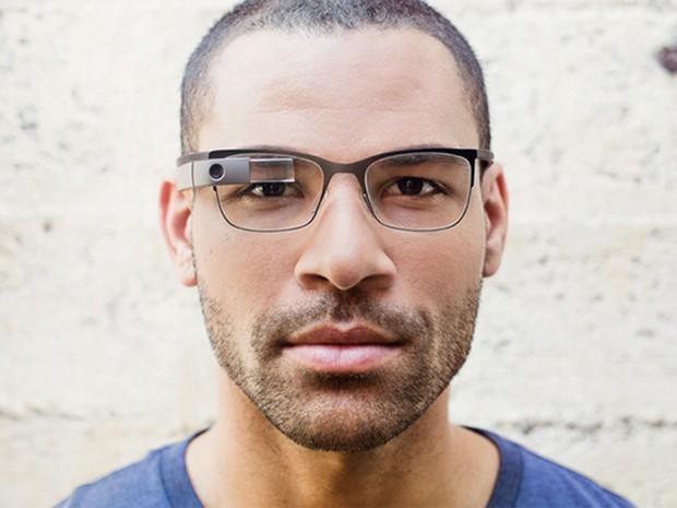 Novo visual do Google Glass se aproxima mais dos óculos convencionais (Foto: Reprodução/Google)