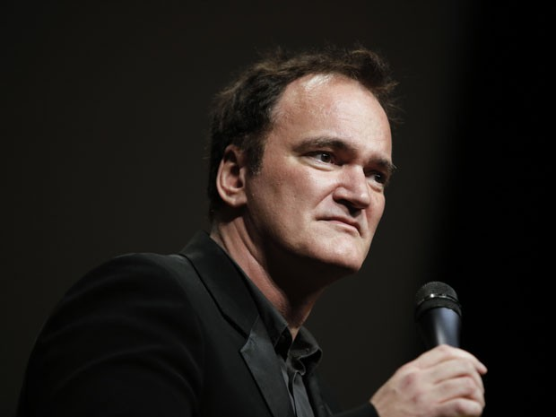 Quentin Tarantino recebe prêmio no Festival Lumiere, em Lyon, na França, no dia 18 de outubro de 2013 (Foto: AP Photo/Laurent Cipriani)