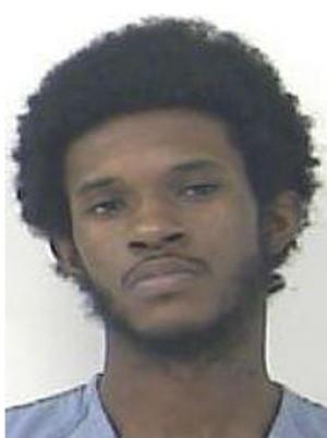Norris Troutman foi preso após agredir o tio com uma tampa de privada (Foto: Divulgação/St. Lucie County Jail)