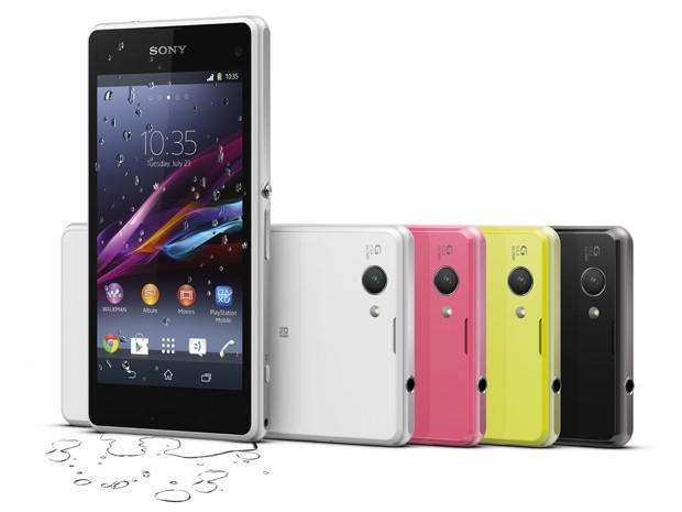 Novo smartphone Xperia Z1 Compact é mais fino e mais leve que antecessor (Foto: Divulgação/Sony)