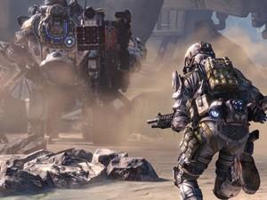 Cena de 'Titanfall', novo game dos criadores de 'Call of Duty' (Foto: Divulgação/Respawn)