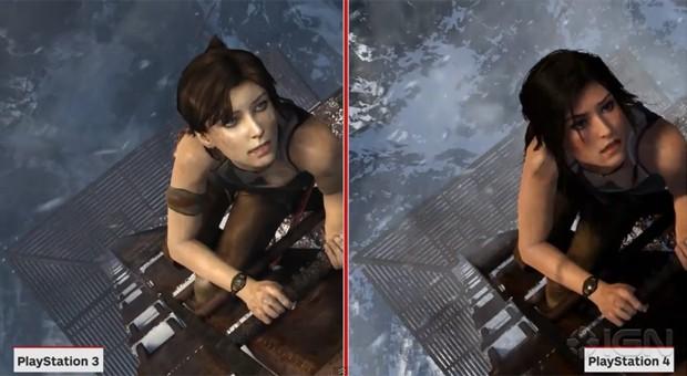 Vídeo compara visual da versão de nova geração de 'Tomb Raider' com edição original (Foto: Reprodução/YouTube/IGN)