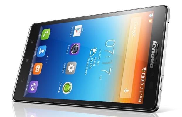 Vibe Z é o novo smartphone top de linha da Lenovo, maior fabricante de computadores do mundo, e foi apresentado na CES 2014. (Foto: Divulgação/Lenovo)
