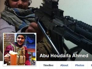 Abu Houdaifa Ahmed, de 21 anos, diz que 'candidatos ao martírio' têm tudo que querem (Foto: Reprodução/Facebook)