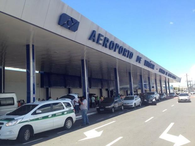 Aeroporto de Vitória (Foto: Leandro Tedesco/ TV Gazeta)