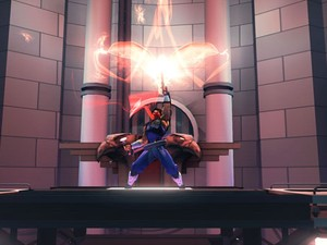 Strider está de volta em um game clássico de plataforma (Foto: Divulgação/Capcom)