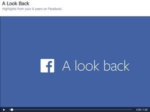 Facebook lançou retrospectiva em vídeo para comemorar 10 anos (Foto: Divulgação/Facebook)