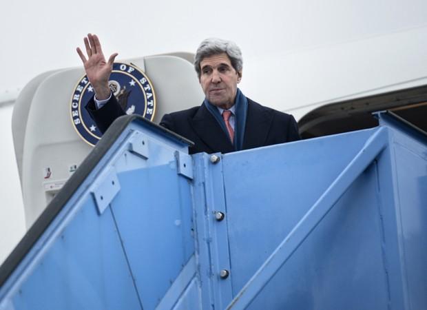 Kerry participa de seminário em Munique e fala sobre Irã (Foto: Brendan Smialowski/Pool/AFP)