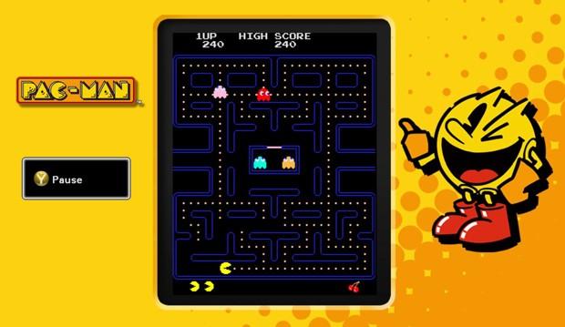 Cena de 'Pac-Man' na coletânea 'Pac-Man Museum' (Foto: Divulgação/Namco Bandai)