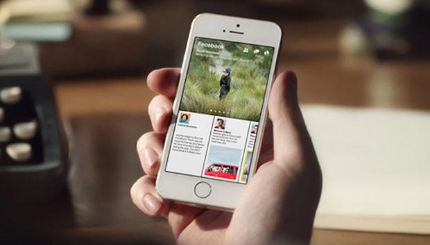 'Paper' é o aplicativo de notícias do Facebook para iPhone (Foto: Divulgação/Facebook)