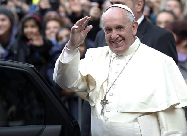 Papa Francisco divulgou mensagem sobre comunicação no dia do padroeiro dos jornalistasa (Foto: Andreas Solaro/AFP)