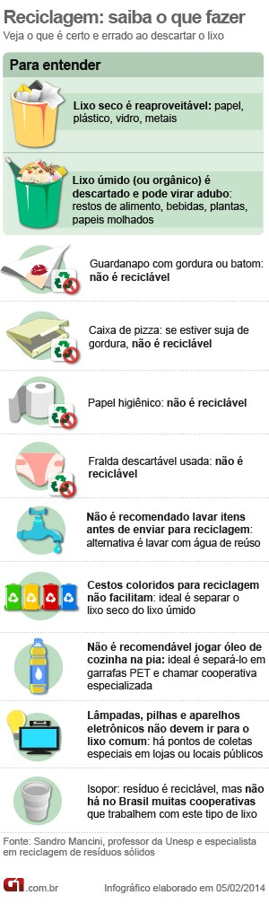 Arte reciclagem (Foto: G1)