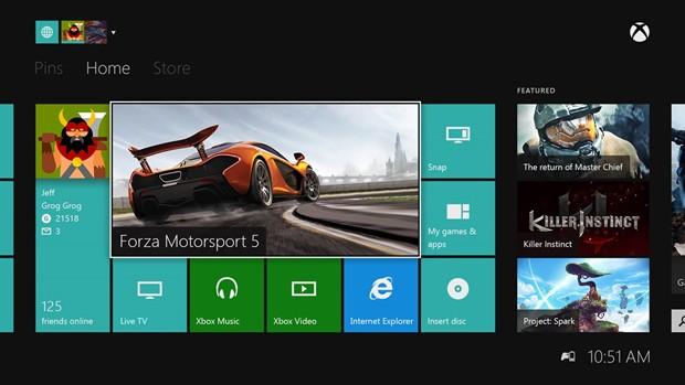 Atualização para o Xbox One terá indicador com nível de bateria do controle (Foto: Divulgação/Microsoft)