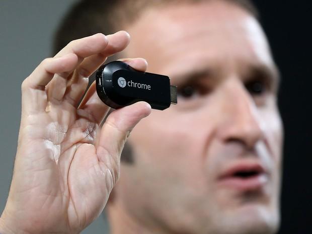 Chromecast leva conteúdo on-line para a TV (Foto: AFP)