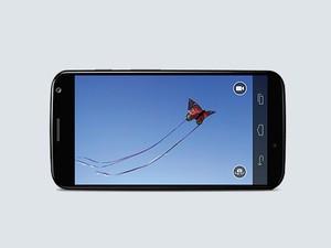 Smartphone Moto X criado pelo Google após a compra da Motorola, tem função de câmera instantânea. (Foto: Divulgação/Motorola Mobility)