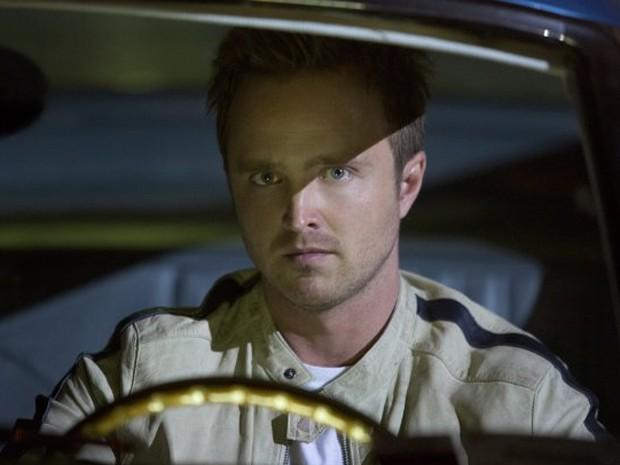 Aaron Paul vive o protagonista Tobey Marshall em 'Need for speed - O filme' (Foto: Divulgação)
