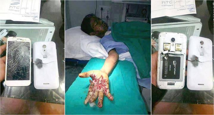 Garoto teria morrido ao atender o celular ligado à tomada! Verdadeiro ou falso? (foto: Reprodução/Facebook)