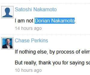 Perfil ligado a criador da moeda virtual Bitcoin nega ser Dorian Sakamoto, (Foto: Reprodução)