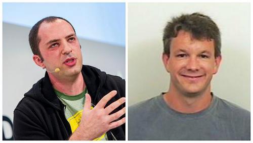 Jan Koum e Brian Acton - fundadores do WhatsApp