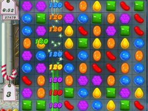 """Imagem do jogo """"Candy Crush"""" (Foto: Divulgação)"""