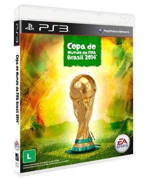 Imagem da capa do jogo oficial da Copa 2014, para PS3 e Xbox 360. (Foto: Divulgação/Electronic Arts)