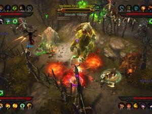 Cena de 'Diablo III' no Xbox 360 (Foto: Divulgação/Blizzard)