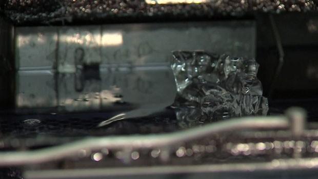 Modelo de implante feito em impressora 3D. Técnica pode revolucionar a medicina (Foto: Reprodução/BBC)