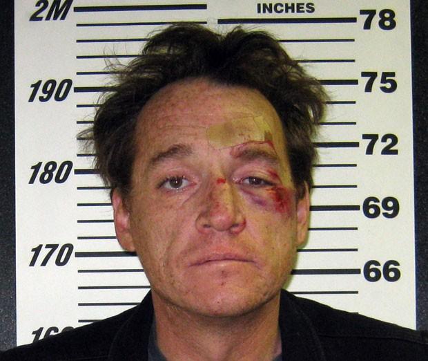 Paul Michael Weddle foi preso por pilotar bêbado avião (Foto: Boulder City Police/AP)