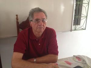Analista ambiental do Ibama, Rubens Portal (Foto: Abinoan Santiago/G1)
