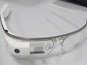 Google Glass, os óculos do futuro do Google (Foto: Gustavo Petró/G1)