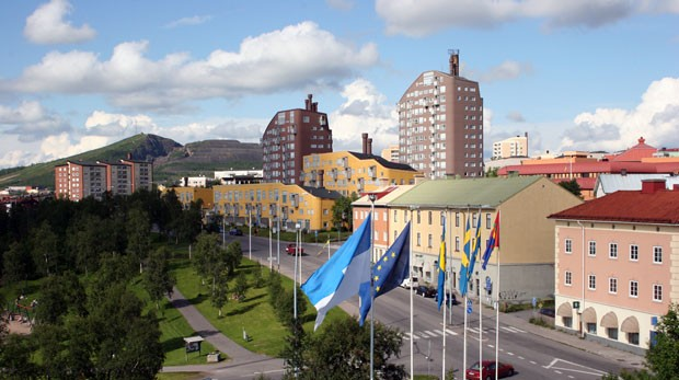 Prefeitura de Kiruana espera que relocação venha a atrair turistas (Imagem cedida pela prefeitura de Kiruna) (Foto: Prefeitura de Kiruna)