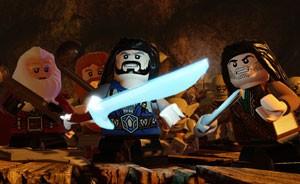 Anões de 'O Hobbit' no game baseado nas peças de Lego (Foto: Divulgação/TT Games)