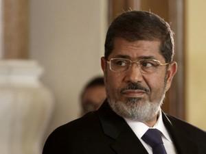 Mohammed Morsi em 13 de julio del 2012 (Foto: Maya Alleruzzo/AP)