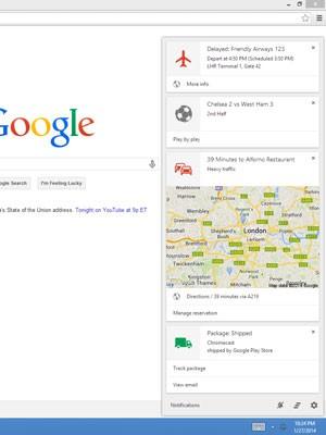 Assistente pessoal Google Now chega aos computadores e notebooks, após nascerem para funcionar em smartphones e tablets. (Foto: Reprodução/Google)