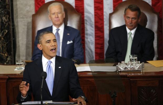 Obama faz pronunciamento durante conferência sobre armas nucleares em Haia (Foto: AFP)