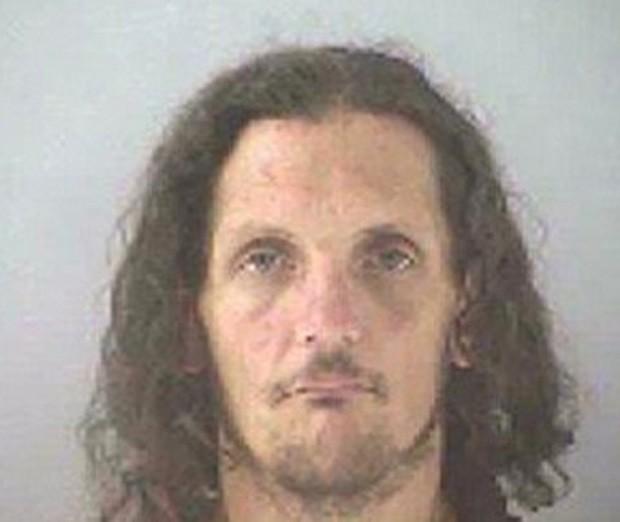 Edwin Tobergta pode pegar 1 ano de cadeia por em 'ato sexual' com bote inflável (Foto: Divulgação/Butler County Jail)