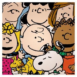Paródia da 'selfie' do Oscar divulgada por criador do Snoopy. (Foto: Divulgação/Twitter/@snoopy)