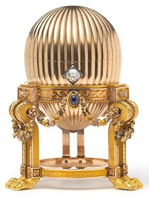 Ovo Faberge encontrado pelo vendendor de sucatas (Foto: REUTERS/Prudence Cuming Associates/Wartski/Handout)