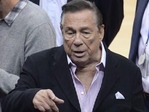 Donald Sterling (foto), dono do LA Clippers, time da NBA, foi criticado por Obama após comentário racista (Foto: AFP)