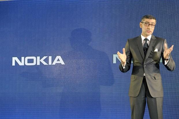 Rajeev Suri assumirá como CEO a partir de 1º de maio, substituindo Stephen Elop (Foto: Heikki Saukkomaa/Lehtikuva/Reuters)