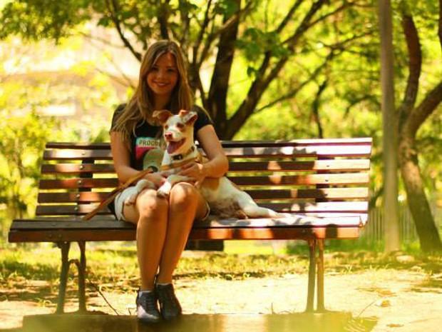 Andreia Giust tenta, via financiamento coletivo, criar aplicativo para agilizar as buscas de animais perdidos (Foto: Dogtown Photography/Divulgação)