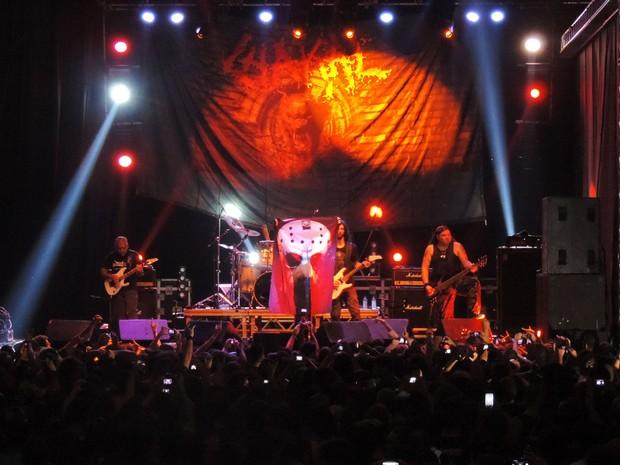Banda Chakal, no Abril pro Rock (Foto: Katherine Coutinho / G1)