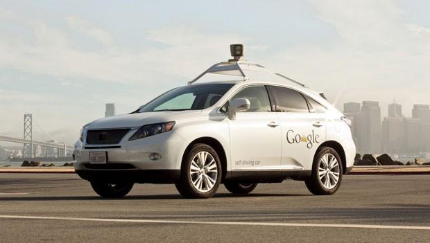 Carro do Google que dirige sem motorista. (Foto: Divulgação/Google)
