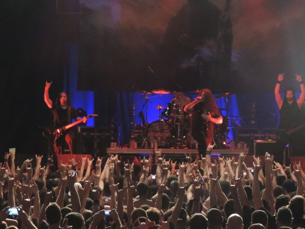Banda Kataklysm, no Abril pro Rock (Foto: Katherine Coutinho / G1)