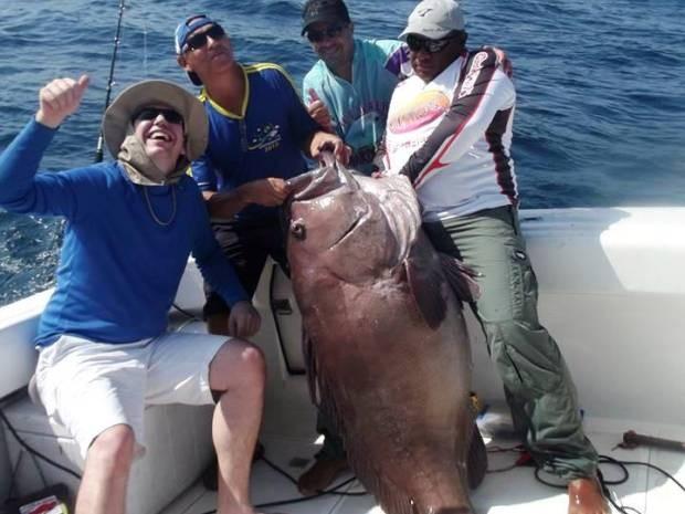 Peixe Gigante Ilhabela (Foto: Arquivo Pessoal/Rafael Mariano)