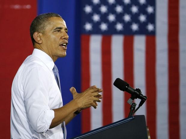 O presidente dos Estados Unidos, Barack Obama, tem índice de rejeição de 52%, segundo pesquisa (Foto: harles Dharapak/AP)