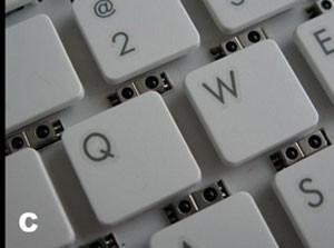 Sensores colocados ao lado das teclas permitem a leitura de gestos do usuário (Foto: Divulgação)