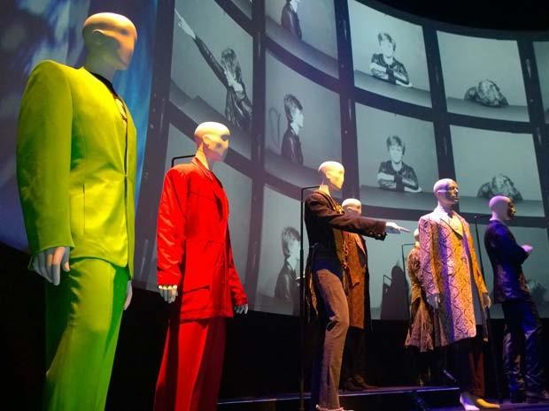 Mostra sobre David Bowie no MIS (Foto: Ardilhes Moreira/G1)